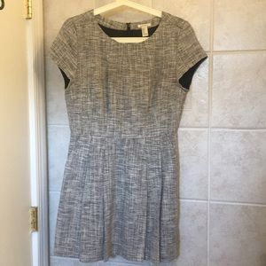 Pleated gray Forever 21 dress
